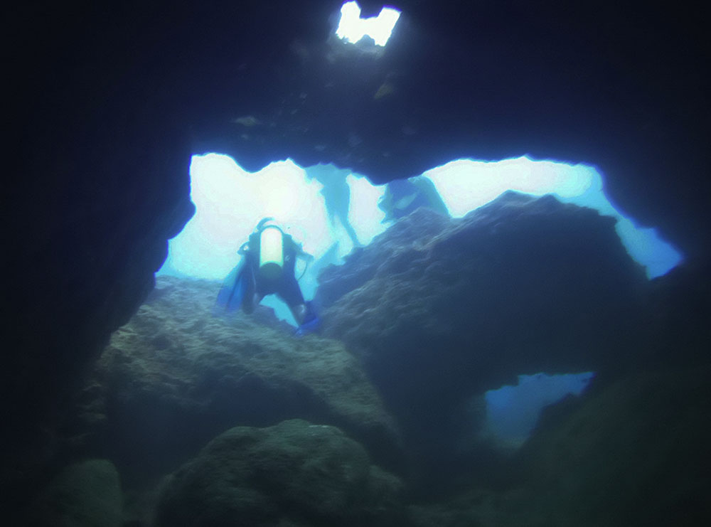 cave coral gardens