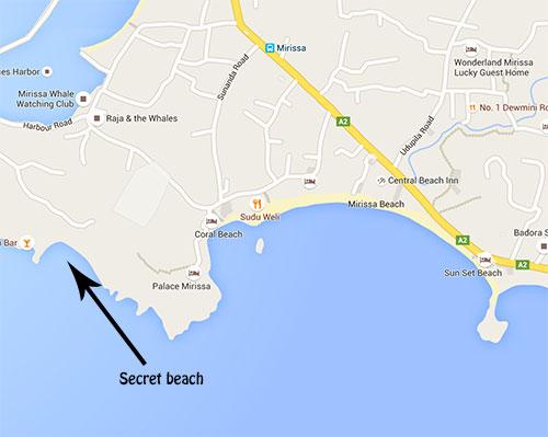 Secret beach