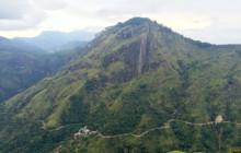 ella peak as seen from little adams peak