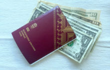 dollars and swedish passport